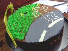 CSI chocolate birthday cake (my favourite so far) #baking