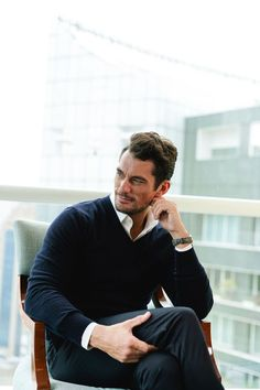 Behind the Scenes: An Interview with David Gandy, the Face of Dolce & Gabbana Light Blue | SENATUS