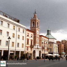#Rimini Piazza Tre Martiri #myrimini #regram di @riminihotelhaarlem