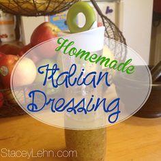Creating a Healthy Life....: Homemade Italian Dressing