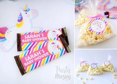 Candy Unicorn Party Ideas