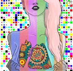 Tu cerebro en LSD parece sufrir de un ataque psicótico « Pijamasurf - Noticias e Información alternativa