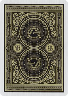 "- About - Photos Designed by South African artist Simon Frouws, Artisans are one of the more ornate decks on the market. No less than David Copperfield has described them as ""the best playing cards ev"