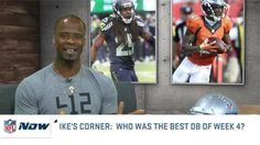 A Pro Bowl CB facing his former team?  Ike Taylor picks his best DB of Week 4