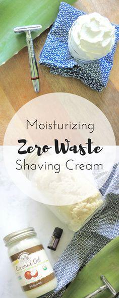 Zero Waste Nerd: Moisturizing Zero Waste Shaving Cream