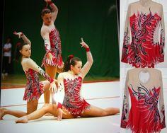 Gymnastics leotards - Acro Ireland leotard