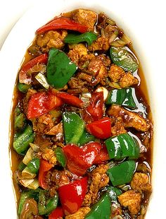 Everyday Food, Sugar And Spice, Dinner Tonight, Kung Pao Chicken, Love Food, Food Porn, Food And Drink, Low Carb, Yummy Food