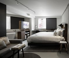 Ink Hotel in Amsterdam by Concrete