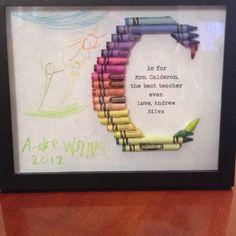 Teacher gift for kindergarten teacher.