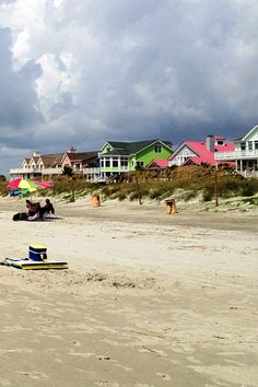 Isle of Palms, South Carolina - Beachhouses