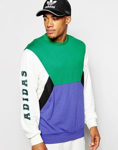 Image 1 of adidas Originals Retro Sweatshirt AO3448