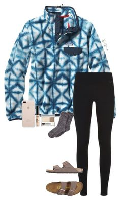 """""""❄️"""" by gabyleoni ❤ liked on Polyvore featuring Patagonia, NIKE, Birkenstock, Amour, Clinique and NYX"""