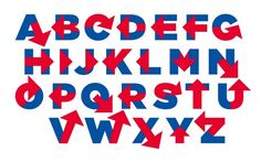 """""""Hillvetica"""" - Hillary Clinton's logo typeface. Created by Rick Wolff for her 2016 Campaign #type"""