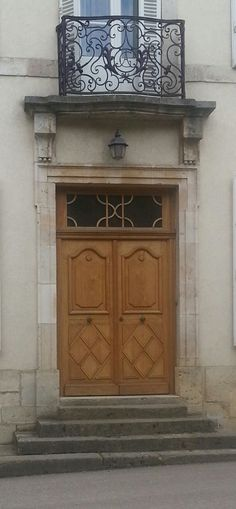 Impressive door & Typical French regional architure | French countryside and Cote d ...