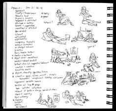 Horoscope Honeys sketches | BIll Presing