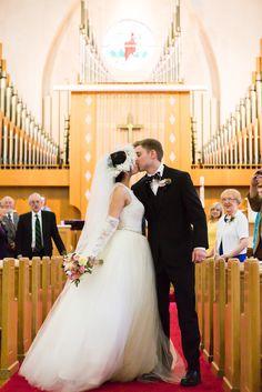 The new Mr. and Mrs! Nashville Wedding Photographer. #wedding #wedding #photo #bride #groom #dress