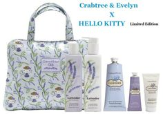 Crabtree Evelyn x Hello Kitty x Lavender Limited Edition Gift Bag | eBay