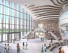 "Check out new work on my @Behance portfolio: ""Tianjin Binhai Library, China"" http://be.net/gallery/48573087/Tianjin-Binhai-Library-China"