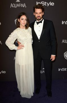 Chloe Bennet Photos Photos - Actors Chloe Bennet (L) and Austin Nichols attend InStyle and Warner Bros. 73rd Annual Golden Globe Awards Post-Party at The Beverly Hilton Hotel on January 10, 2016 in Beverly Hills, California. - 2016 InStyle and Warner Bros. 73rd Annual Golden Globe Awards Post-Party - Arrivals