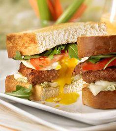 Toasty Egg Sandwiches