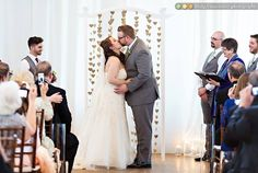 "Wedding photo ""You may kiss the bride"" 