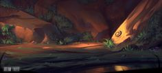 ArtStation - Dream Tales - Rock valley, Roberto Gatto