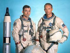 Gemini 10 flight crew, John W. Young and Michael Collins