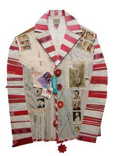 Art garment by Peter Clark
