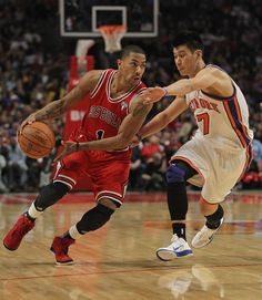 Derrick Rose Vs Lin !