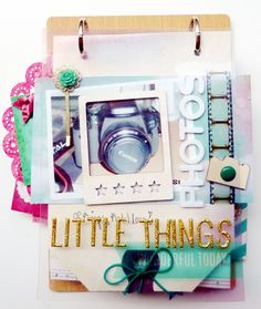 Little Things - Minibook Maggie Holmes (Crate Paper) von Anke Kramer   www.danipeuss.de