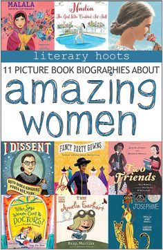 Nonfiction Picture Book Biographies About Amazing Women Kids Book List Recommended Books History For Kids, Women In History, Ancient History, Literary Nonfiction, Biography Project, Preschool Books, Mentor Texts, Kids Reading, Reading Tips
