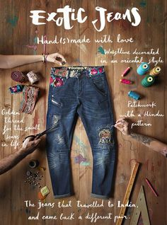 "Normal y ""Corriente""... El blog para mujeres con Chispa*: Exotic jeans"