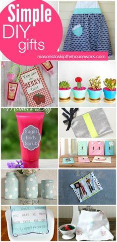 simple DIY gifts