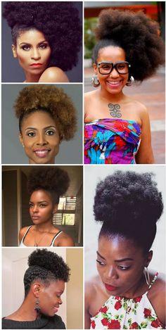 Afro Puff: O penteado mais amado das crespas e cacheadas