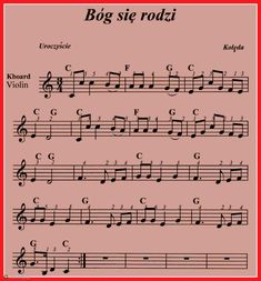 nuty kolęd na keyboard - Szukaj w Google Ukulele, Violin, Flute Sheet Music, Kalimba, Spaces, Google, Books, Christmas, Music Ed
