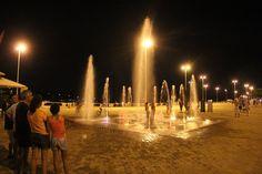 Fonte de água na Orla de Pirapora/MG