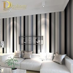 Aliexpress.com : Buy Modern Simple Stripes Texture Wallpaper Embossed Wallpaper Bedroom Decor Environmental Home Supplies papel de parede R295 from Reliable wallpaper paint suppliers on Wallpaper Wholesale   Alibaba Group