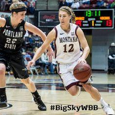 UM's Kellie Cole Named Big Sky Conference Women's Basketball Player of the Week #BigSkyWBB #GoGriz
