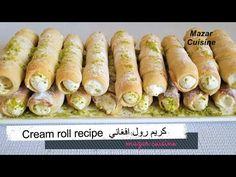 AFGHANI CREAM ROLL RECIPE ,CREAM ROLLS , CREAM HORNS, EASY & SIMPLE DESSERT RECIPE کریم رول افغانی - YouTube
