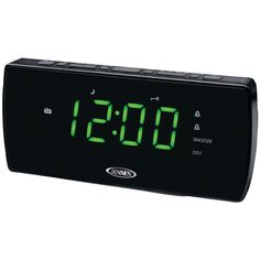 Jensen Am And Fm Dual Alarm Clock Radio