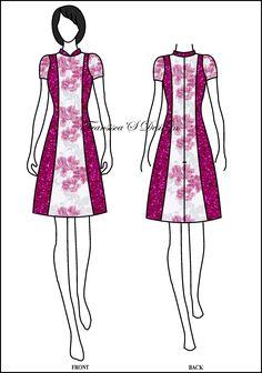 16 Best Sketsa Busana Casual Fransiscas Design Images Blouse