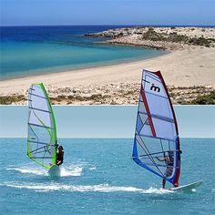 Afiartis - center of wind surfing - Karpathos...