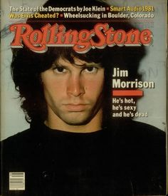 sexy hot rock vintage dead RIP the doors Rolling Stone Magazine 27 Club acid rock rolling stone cover blues rock Jim Morrison Rolling Stone Magazine Cover, Ray Manzarek, The Doors Jim Morrison, Music Magazines, Rock Legends, Blues Rock, The Clash, Guitar Lessons, Classic Rock