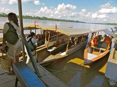 On our way to the Amazon Basin in Peru.