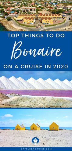 If your cruise ship is stopping in Kralendijk, Bonaire, you will want to take a look at our list of the Best Things to Do in Bonaire on a Cruise updated for 2020 to help make the most of your visit to this island. Best Cruise, Cruise Port, Cruise Tips, Cruise Travel, Cruise Vacation, Cruise Excursions, Cruise Destinations, Shore Excursions, Amazing Destinations
