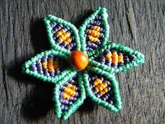 Macrame Flower Tutorial