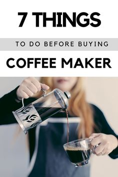 Going to buy a brand new coffee machine? Confused about what to consider before buying? Checkout these valid 7 points while looking for a coffee maker on homekitchenary.com