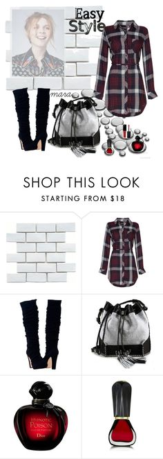 """""""Easy Style"""" by marastyle ❤ liked on Polyvore featuring Merola, Carianne Moore, Oribe and Smashbox"""