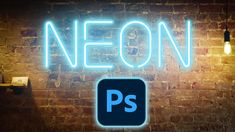 How to create a neon glow in photoshop. This free photoshop tutorial includes font, layer style and photo, so you have everything you need. Photoshop Youtube, Cool Photoshop, How To Use Photoshop, Photoshop Tutorial, Photoshop Text Effects, Neon Glow, Layer Style, Photoshop Illustrator, Photo Tutorial