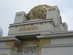 """""""For every time its art. For art its Freedom""""  Joseph Maria Olbrich, The Secession Building, 1898  More info: http://www.secession.at/building/planung_e.html"""